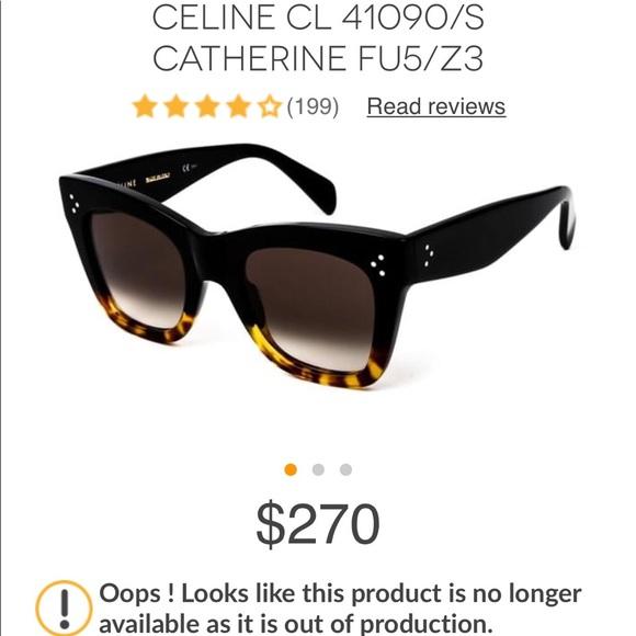 f627e199141 Celine Accessories - 🌟PRICE LOWERED🌟 CELINE Catherine Sunglasses